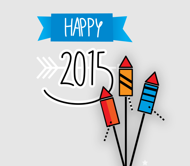 2&40 wünscht ein glückliches 2015